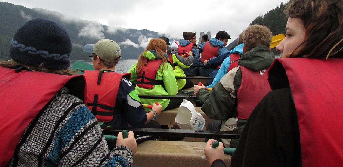 boat voyage orcas island schools